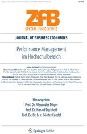 performance management im hochschulbereich dilger alex ander dyckhoff harald f andel gnter