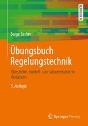 Übungsbuch Regelungstechnik
