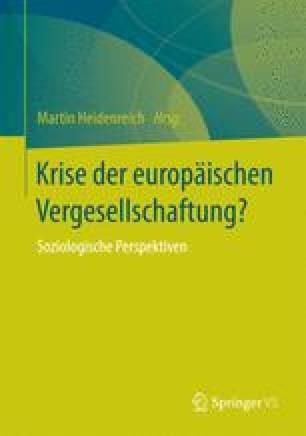 Krise der europäischen Vergesellschaftung?