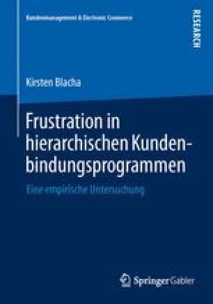 Frustration in hierarchischen Kundenbindungsprogrammen