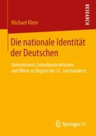 Die nationale Identität der Deutschen