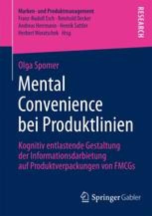 Mental Convenience bei Produktlinien