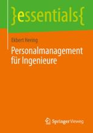 Personalmanagement für Ingenieure