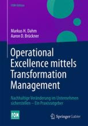 Operational Excellence mittels Transformation Management