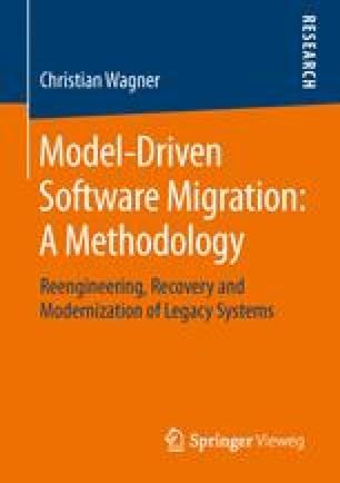 Model-Driven Software Migration: A Methodology