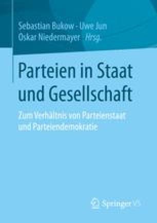 Parteien in Staat und Gesellschaft