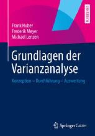 Grundlagen der Varianzanalyse