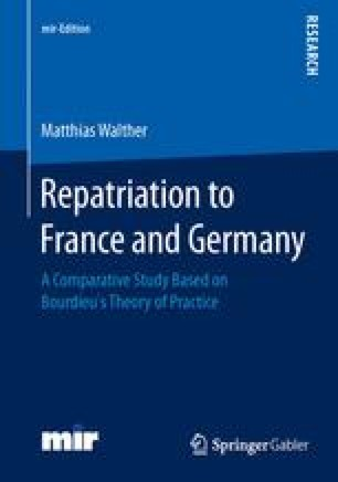 Repatriation to France and Germany