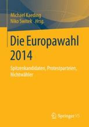 Die Europawahl 2014