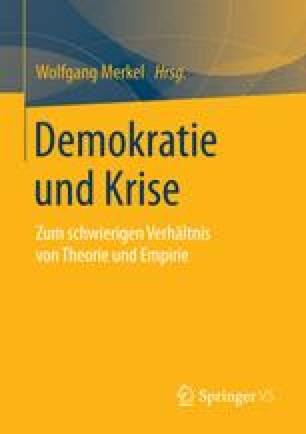 Demokratie und Krise