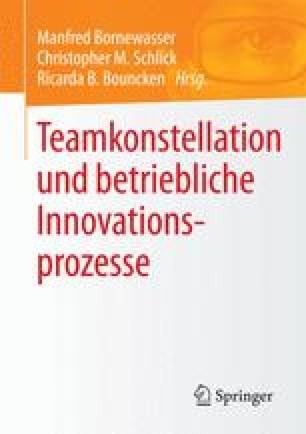 Teamkonstellation und betriebliche Innovationsprozesse