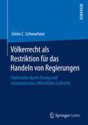 Völkerrecht als Restriktion für das Handeln von Regierungen