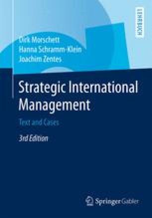 Strategic International Management