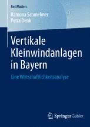 Vertikale Kleinwindanlagen in Bayern