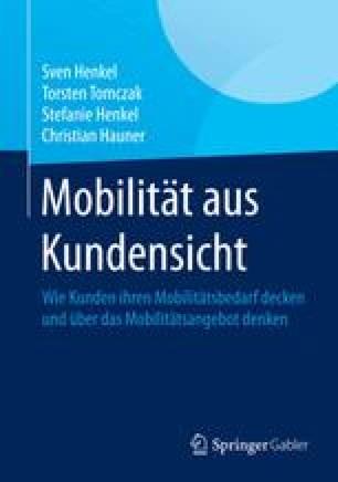 Mobilität aus Kundensicht