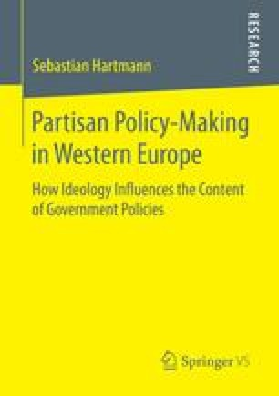 Partisan Policy-Making in Western Europe