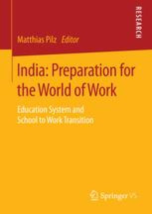 India: Preparation for the World of Work