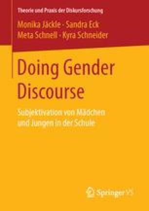 Doing Gender Discourse