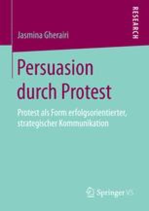 Persuasion durch Protest