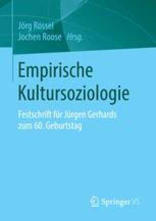 Empirische Kultursoziologie