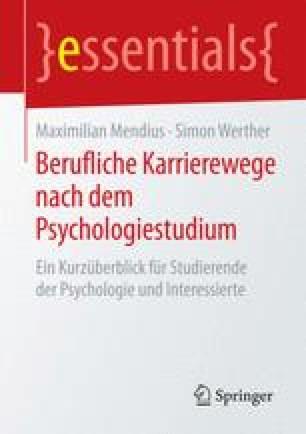 Berufliche Karrierewege nach dem Psychologiestudium