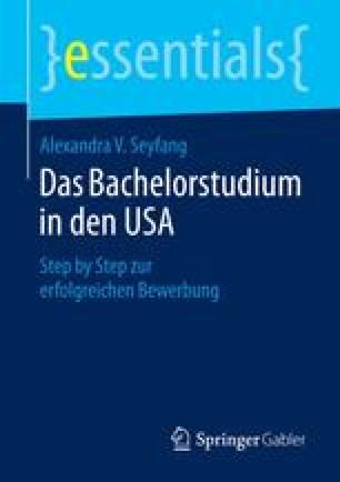 Das Bachelorstudium in den USA