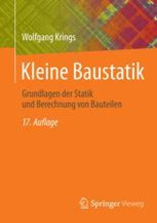 Scherkr fte springerlink for Kleine baustatik