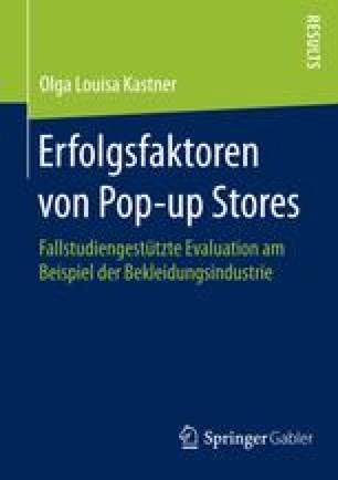 Erfolgsfaktoren von Pop-up Stores