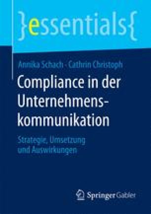 Compliance in der Unternehmenskommunikation