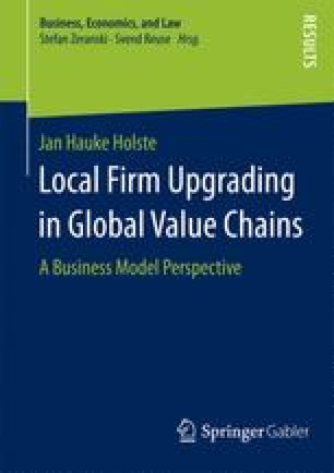 Local Firm Upgrading in Global Value Chains
