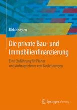 Die private Bau- und Immobilienfinanzierung