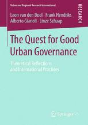 The Quest for Good Urban Governance