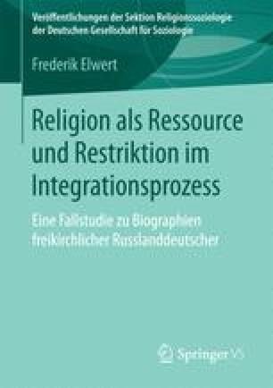 Religion als Ressource und Restriktion im Integrationsprozess