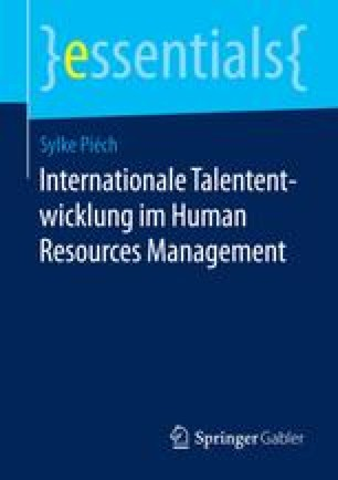 Internationale Talententwicklung im Human Resources Management