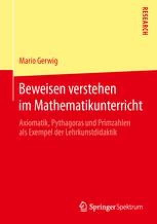 Beweisen verstehen im Mathematikunterricht