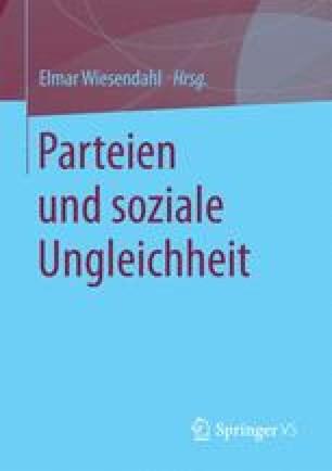 Parteien und soziale Ungleichheit