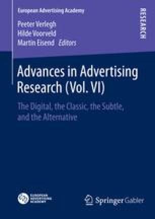 Advances in Advertising Research (Vol. VI)