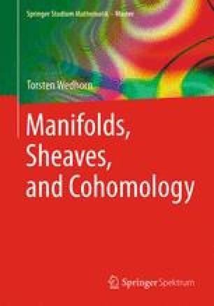 Manifolds, Sheaves, and Cohomology