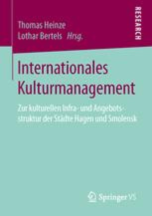 Internationales Kulturmanagement