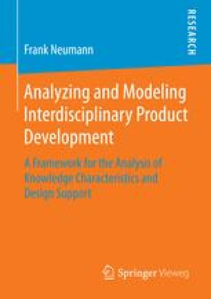 Analyzing and Modeling Interdisciplinary Product Development