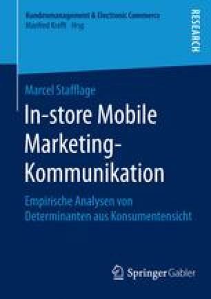In-store Mobile Marketing-Kommunikation