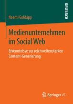 Medienunternehmen im Social Web