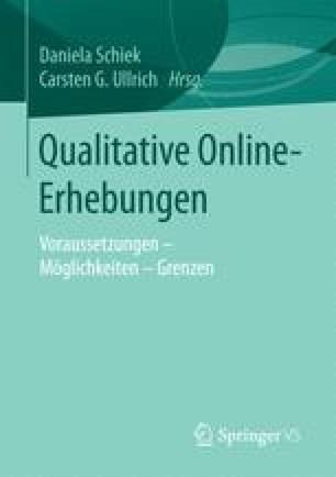 Qualitative Online-Erhebungen