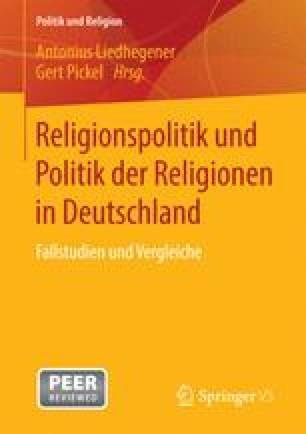 Religionspolitik und Politik der Religionen in Deutschland
