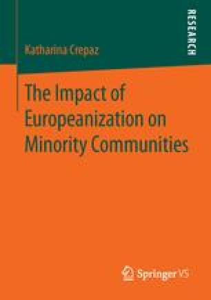 The Impact of Europeanization on Minority Communities