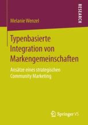 Typenbasierte Integration von Markengemeinschaften