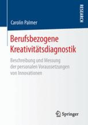 Berufsbezogene Kreativitätsdiagnostik