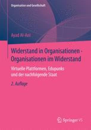 Widerstand in Organisationen • Organisationen im Widerstand