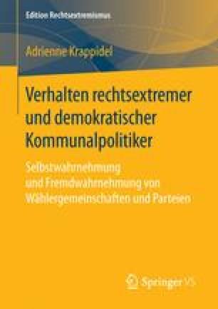 Verhalten rechtsextremer und demokratischer Kommunalpolitiker