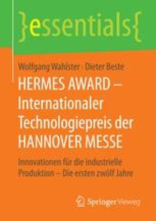 HERMES AWARD – Internationaler Technologiepreis der HANNOVER MESSE